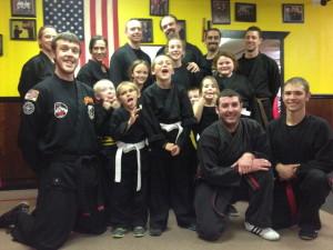 Havin Fun at Oregon Kung Fu and Jiu Jitsu!