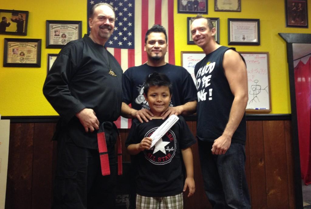 3rd Generation of 1 Family Being Taught at Oregon MMA Kung-Fu and Jiu Jitsu
