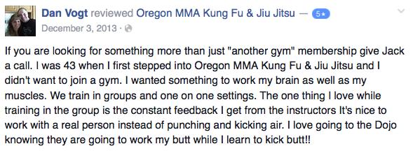 medford oregon kung fu review dan vogt