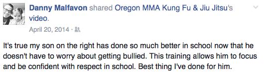 medford oregon kids martial arts danny