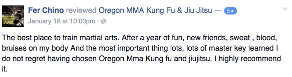 medford oregon martial arts chino