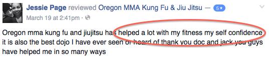jessie page medford martial arts