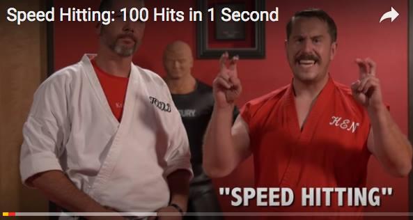 Master Ken Approves Speed Hitting