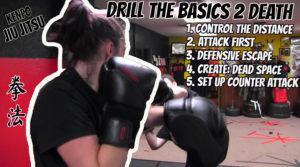 Drill The Basics To Death - Women Self Defense